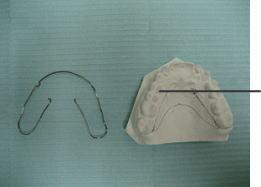 模型からワイヤーを外して床(プラスチック)部分製作の準備