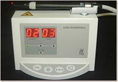 レーザーによるう蝕診断器(ダイアグノデント)